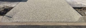 rawcon exposed aggregate concrete driveway