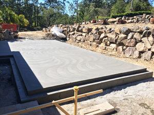 concrete slab sunshine coast